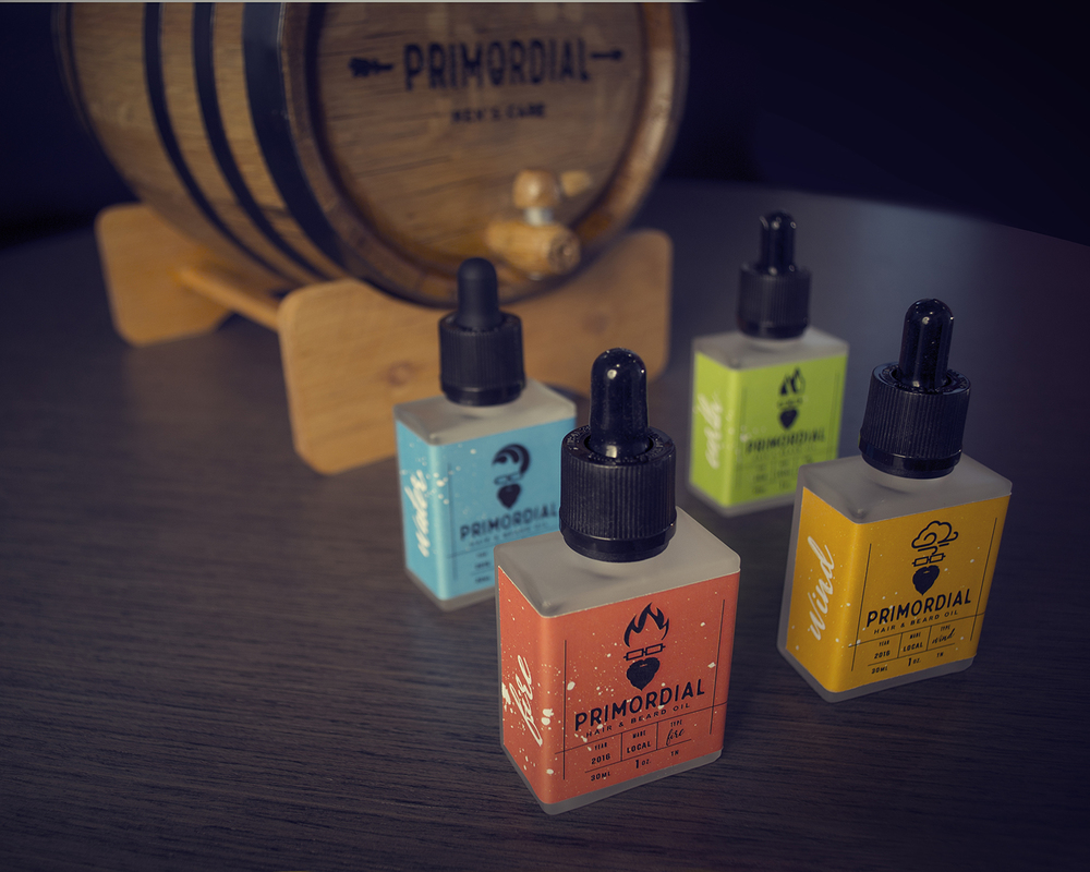 Primordial Hair & Beard Oil