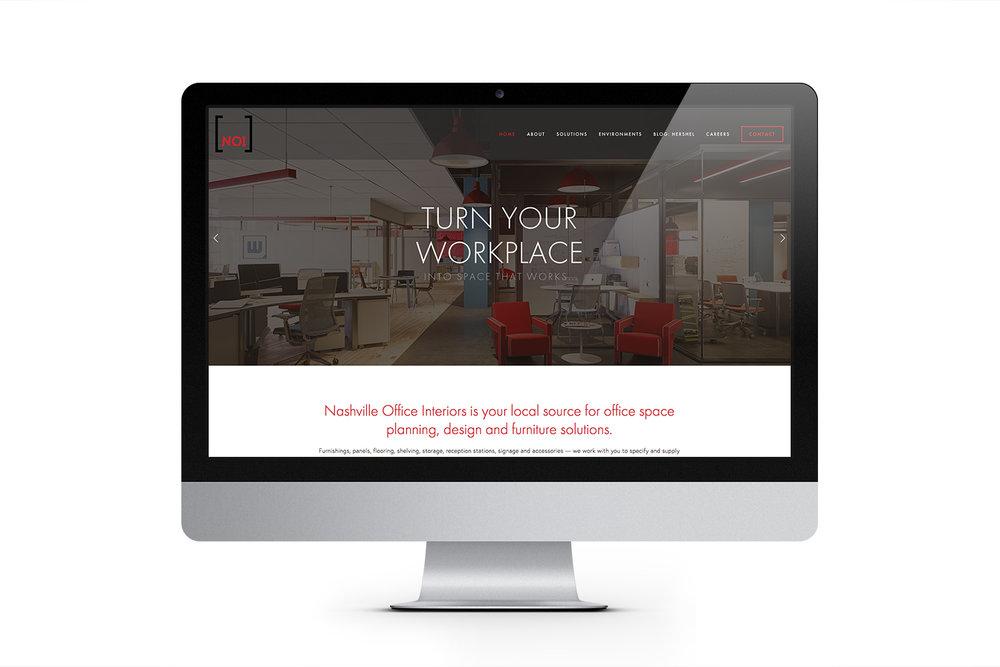 Nashville Office Interiors Website