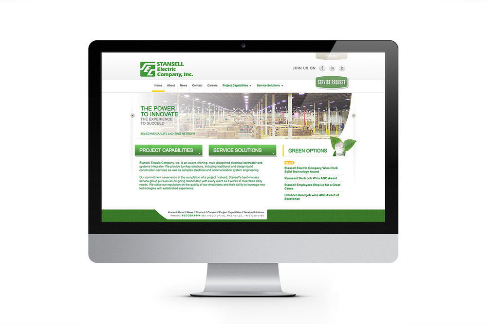 Stansell Electric Website