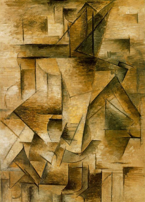 Le guitariste by Pablo Picasso