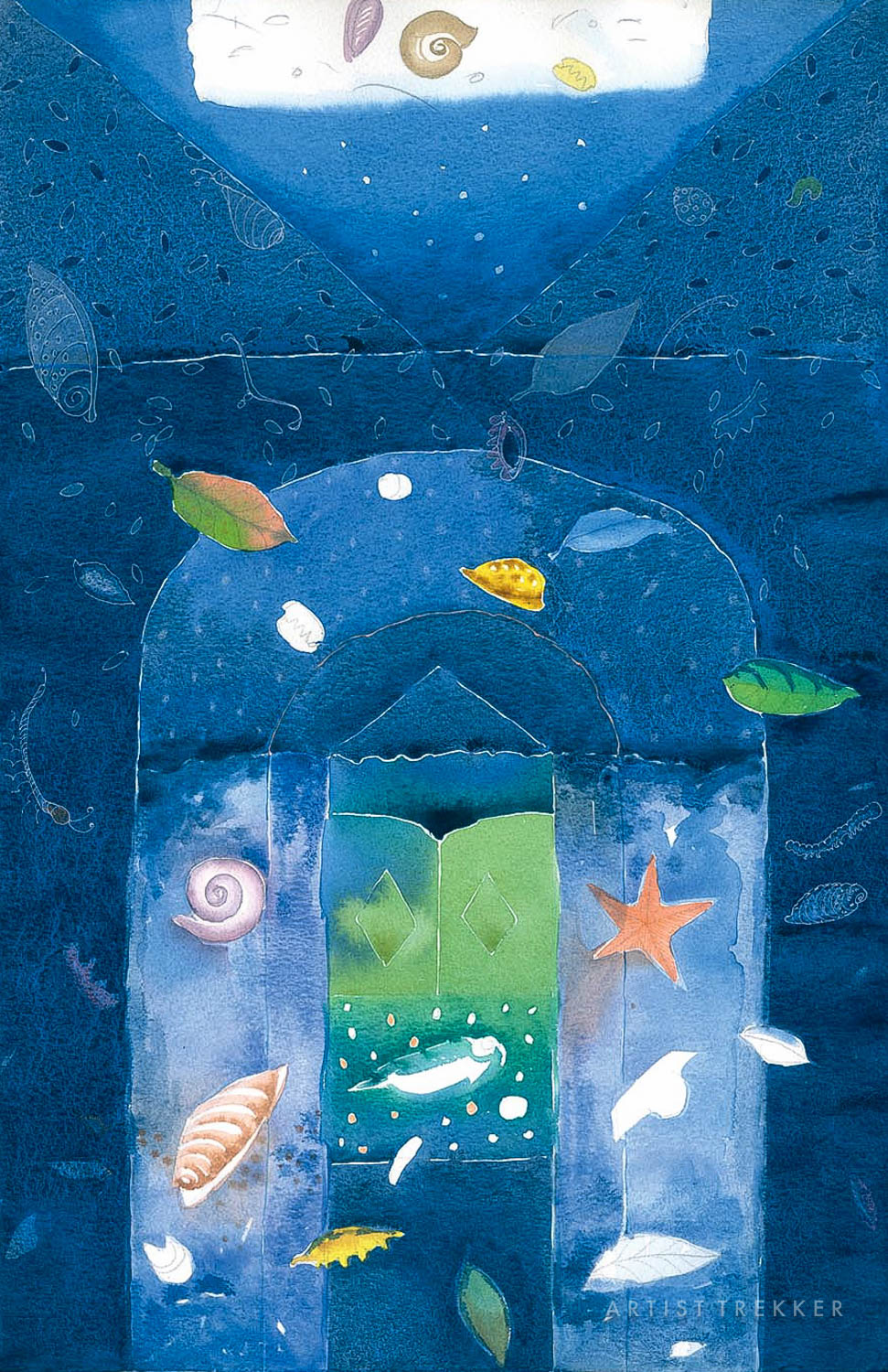 "Nasreen Begum, ""Door of a New Life-35"""
