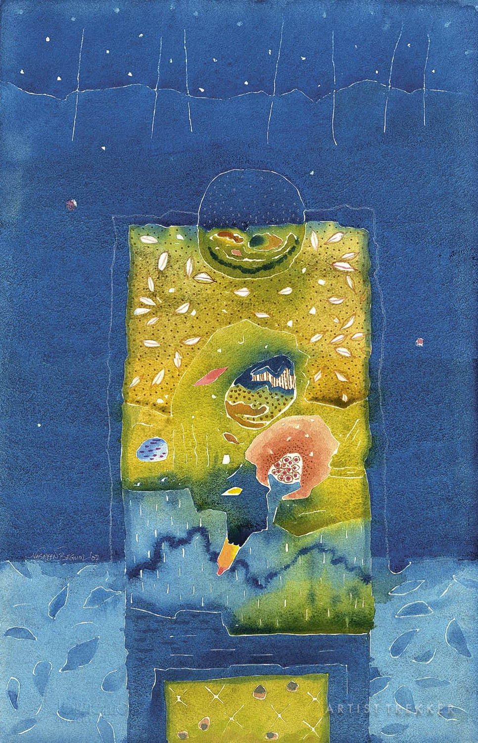 "Nasreen Begum, ""Door of a New Life-36"""