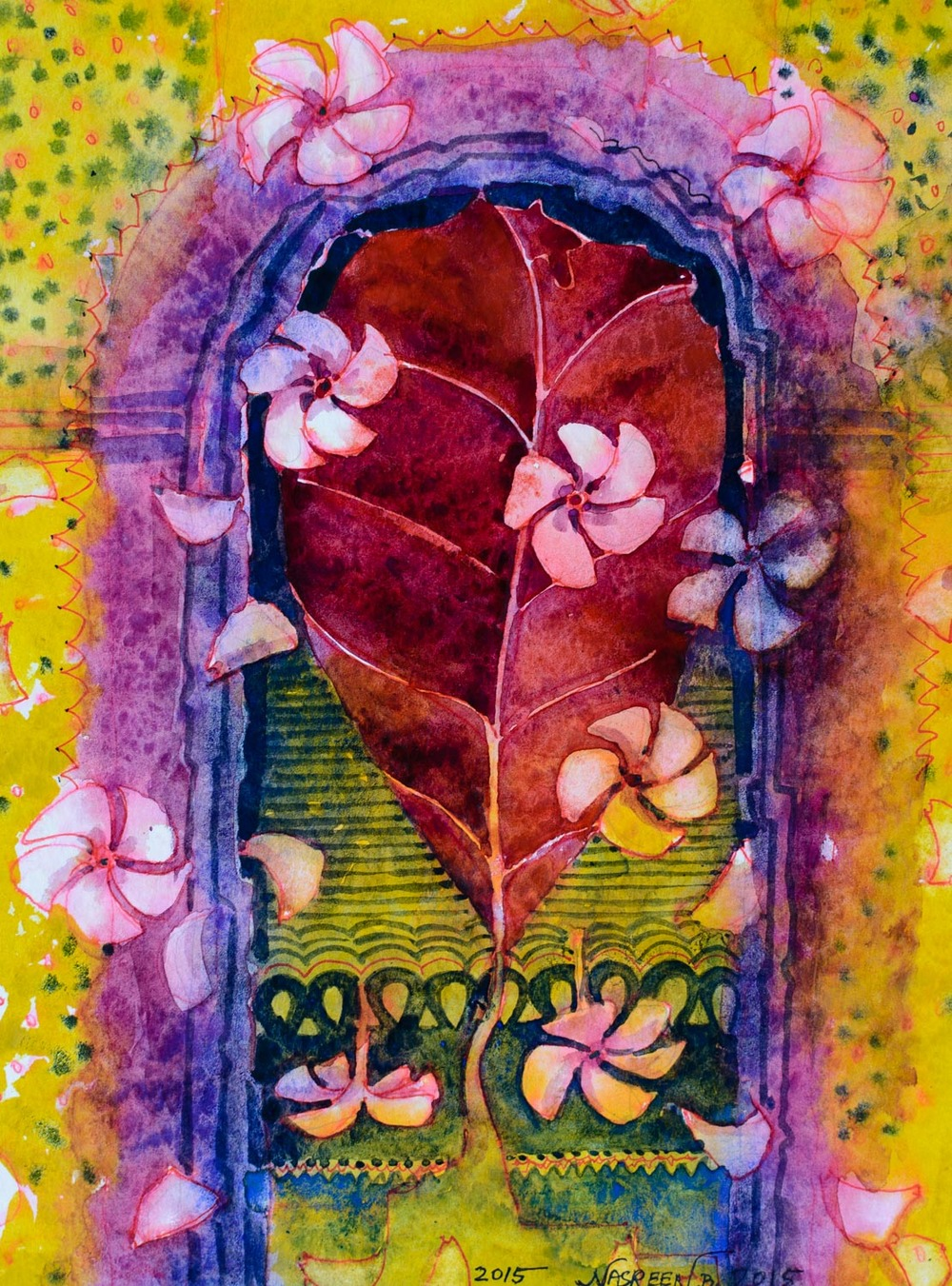 "Nasreen Begum, ""The Joyful Door"""
