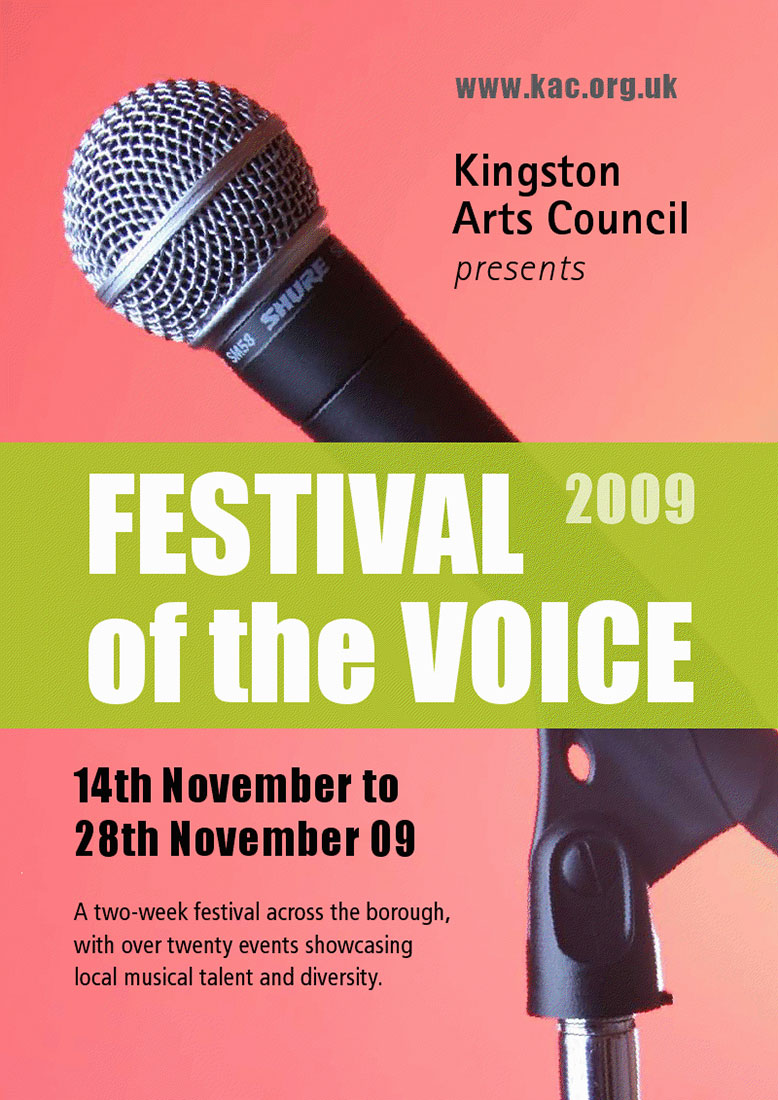Festival of the Voice / Kingston Arts Council