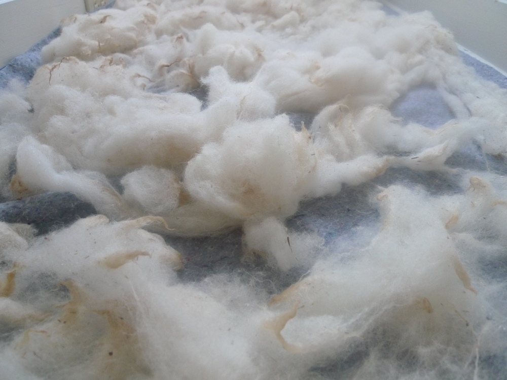 Air drying fiber