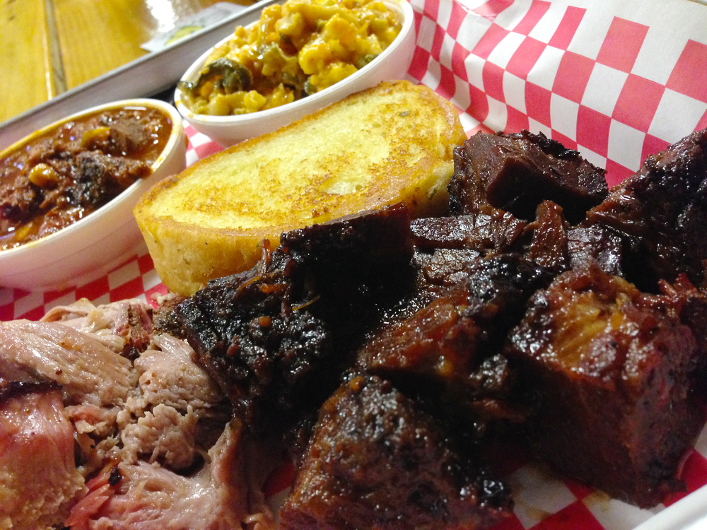 Burnt ends at Holy Hog BBQ in Tampa