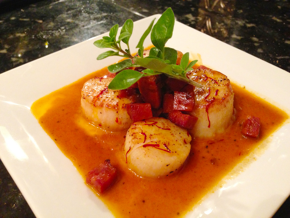 ... sea scallops in saffron sauce 3 jpg sea scallops in saffron sauce