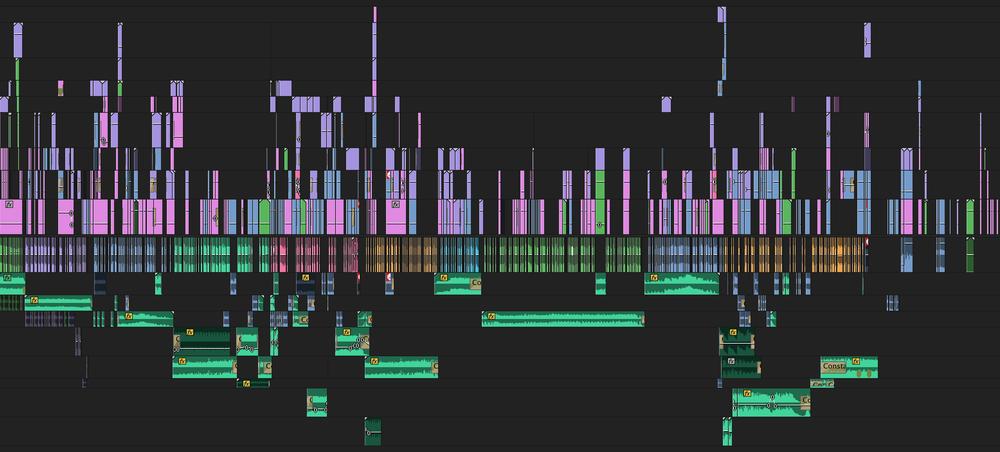 Current status of the Episode 4 edit