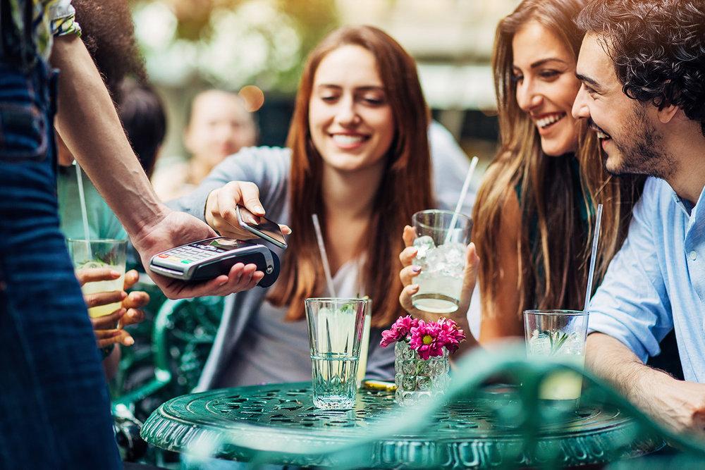 Retail and restaurants -
