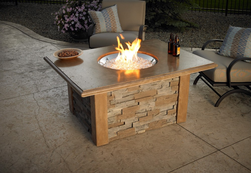Diy Outdoor Gas Fire Pit Images