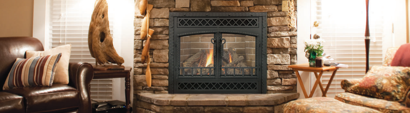 Glass Fireplace Doors Direct Vent Reface Steel And Aluminum Doors