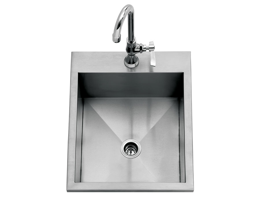 "15"" Drop-In Sink [DHOS15-LR]"