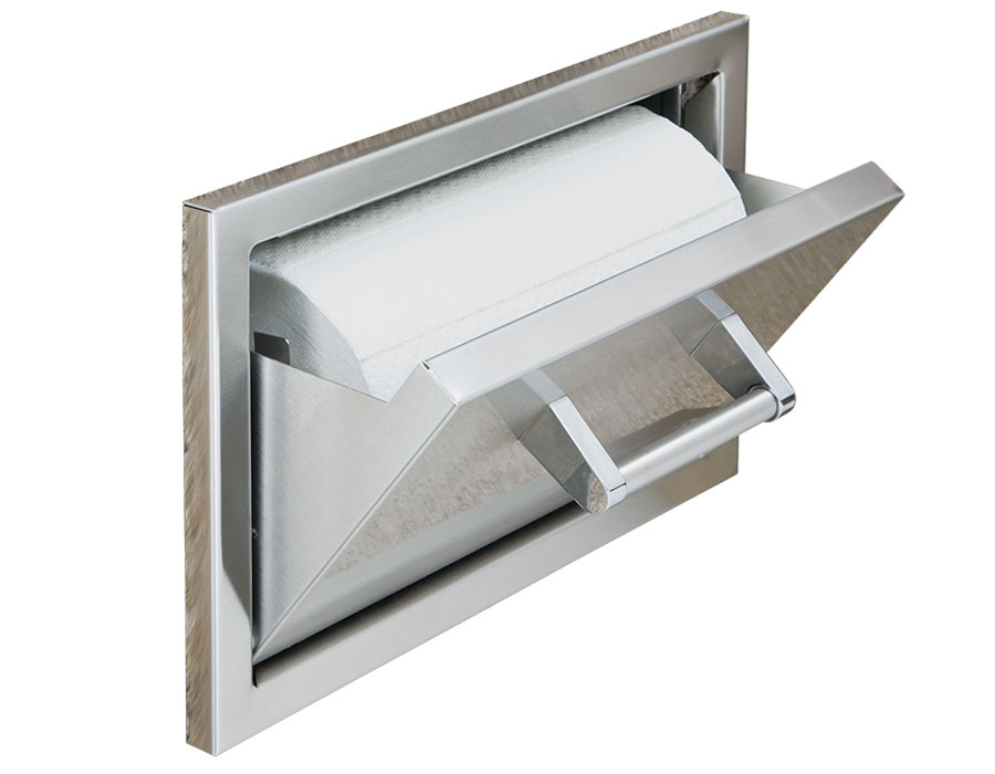 "15"" Paper Towel Holder [DHPT15-B-LR]"