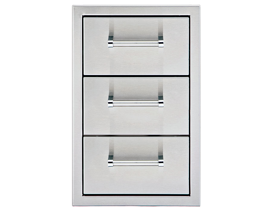13″ Triple Storage Drawers [DHSD133-B-LR]