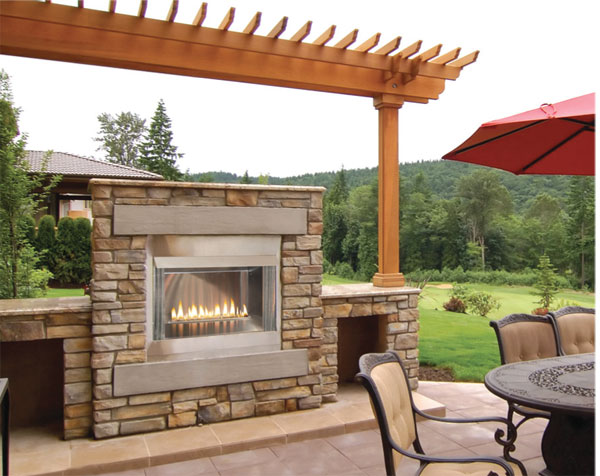 OLP36FP Outdoor Loft Premium Fireplace