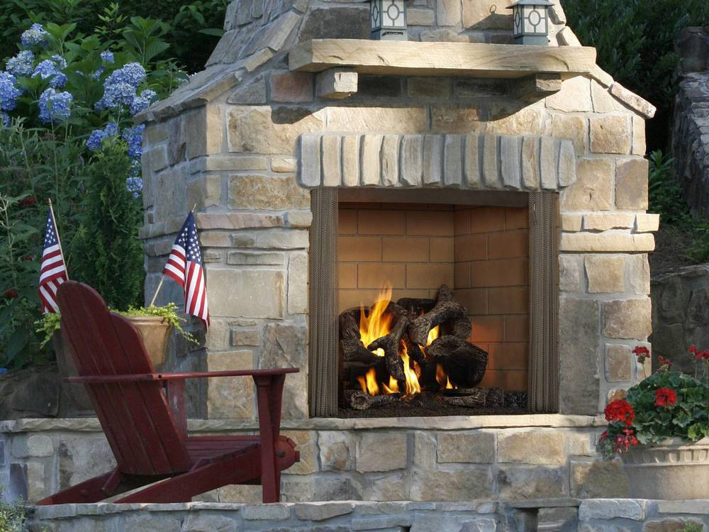 Fireplace Design heat and glo fireplaces : Heat N Glo Outdoor Fireplaces | Godby Hearth and Home
