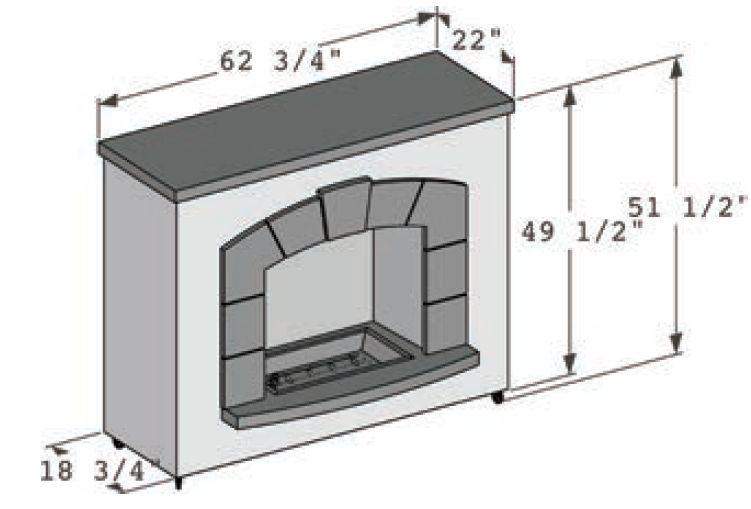 Stone Arch Dimensions