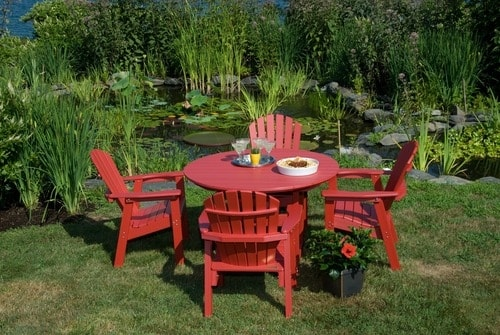Shell Back Adirondack Dining Chairs
