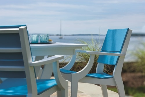 SYM Dining Chairs in Pool Color