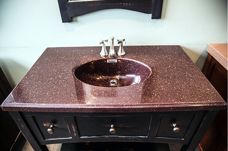 Cultured Marble Vanity Tops | Godby Hearth and Home