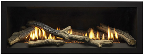 Charred Log Set