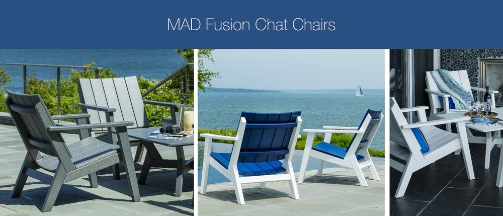 seaside casual NEW 2017 mad fusion chat chair collection & Seaside Casual Furniture Collection | Godby Hearth and Home