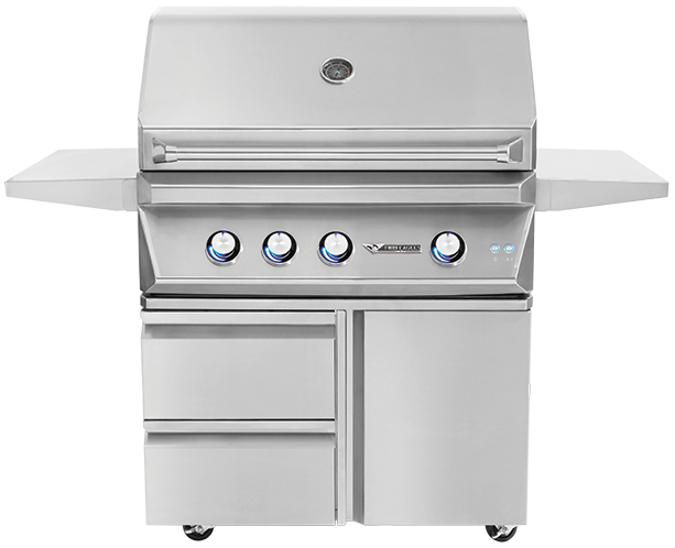36'' Grill with Storage Drawer [TEGB36SD-B]