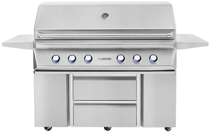 54'' Grill with Storage Drawers [TEBGB54SD]