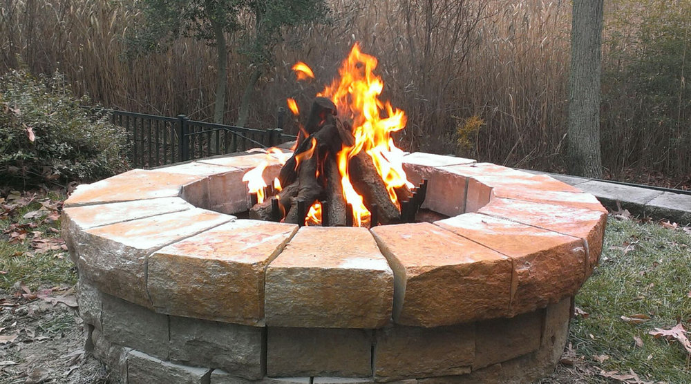 Outdoor Kiva Burner