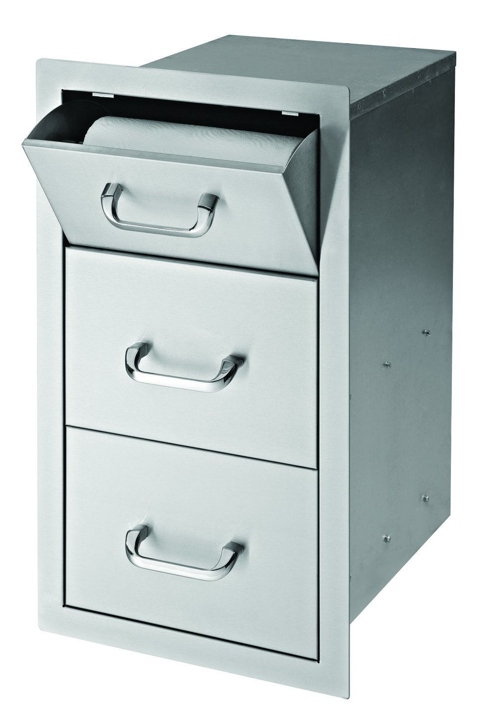 17″ PAPER TOWEL 2-DRAWER COMBO [DSPT17D2]