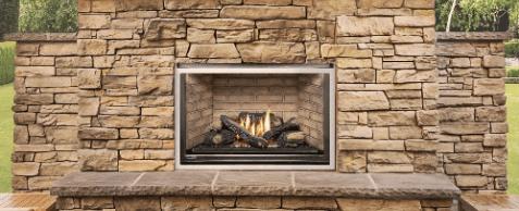 Montigo Outdoor Fireplace