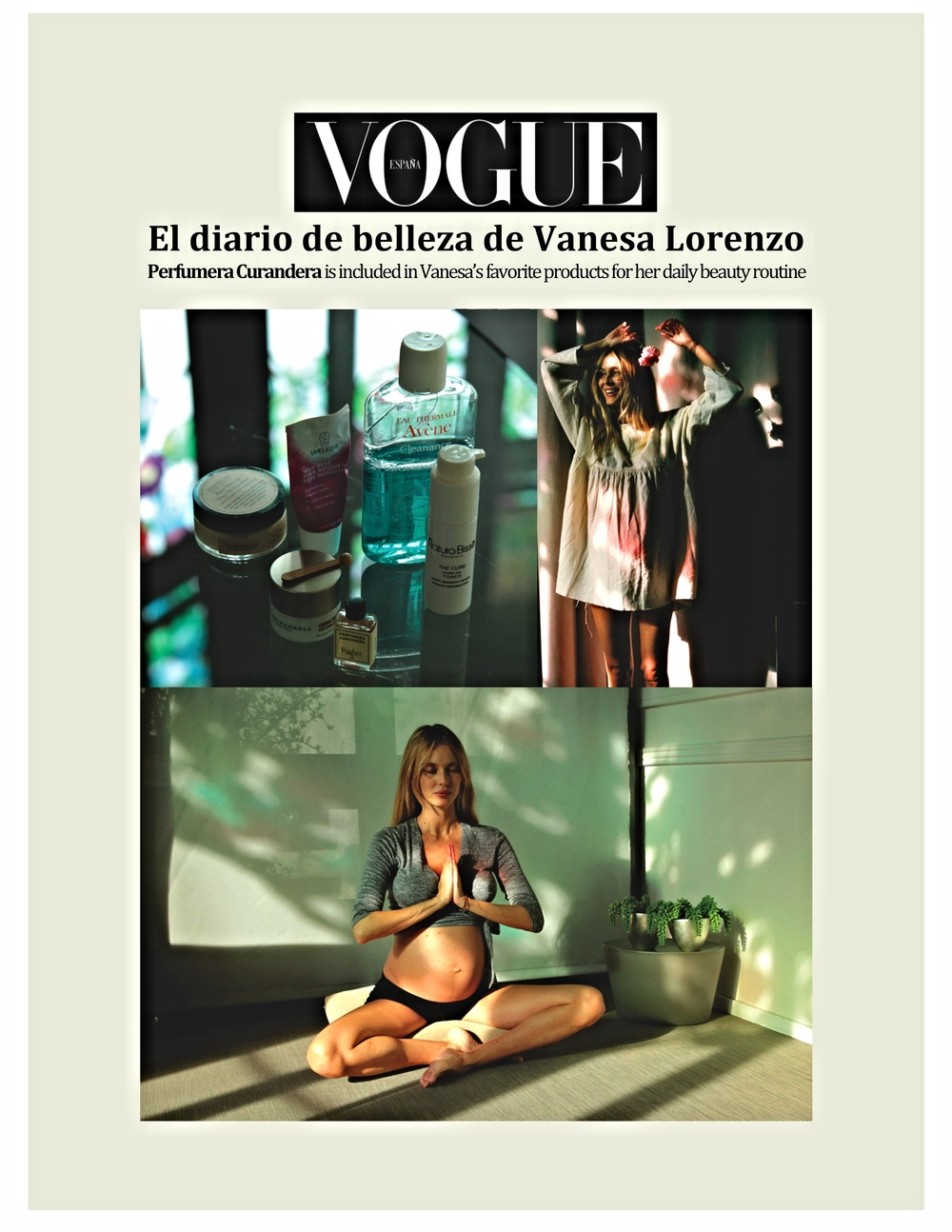 Vanesa Lorenzo Vogue - January 2016