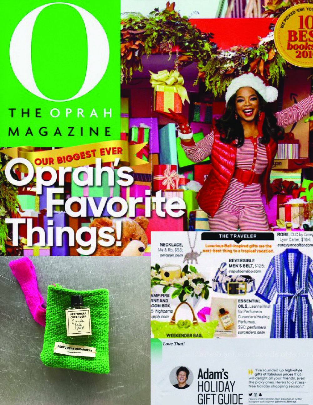 Oprah Magazine - Christmas 2016