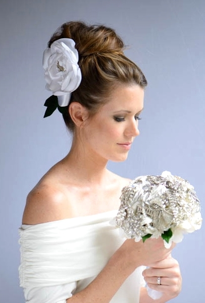 Bridal Updo Sarina Durden Makeup & Hair