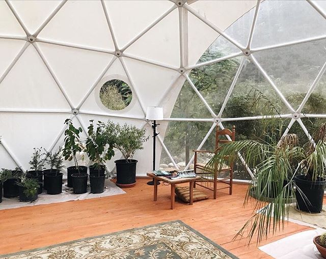 Why aren't there more geodomes around? Because we'd really like to see more of this in the neighbourhood. #finditliveit photo from @polina.etc