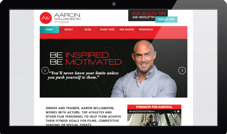 Aaron Williamson Fitness  / aaronwilliamson.net