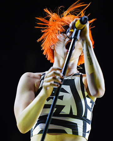 Paramore: Concert Photography