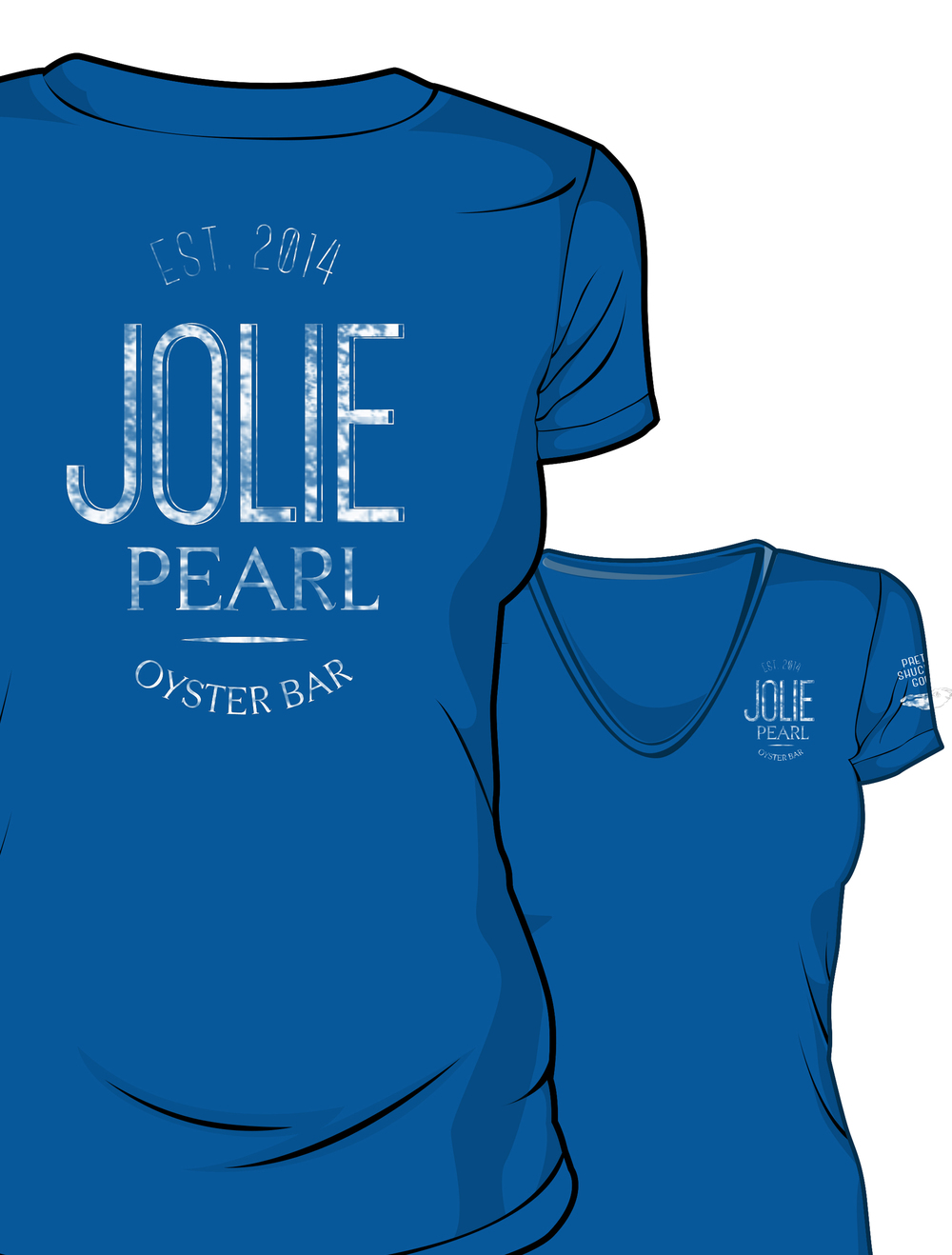 Jolie Pearl Oyster Bar Uniform Shirts