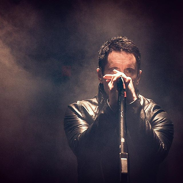 For those of you that know me well, know I'm a HUGE @nineinchnails fan 🤘🏻#voodoofest2013 and @treznor did not disappoint that year.  Can't wait for their show next month ekkkk🎉🖤 @saengernola . . . #rockmusic #smoke #stagelights #intheshadows @voodoonola #neworleans #concertphotography #concertphotographer #livemusic #trentreznor #igotmyeyeonyou