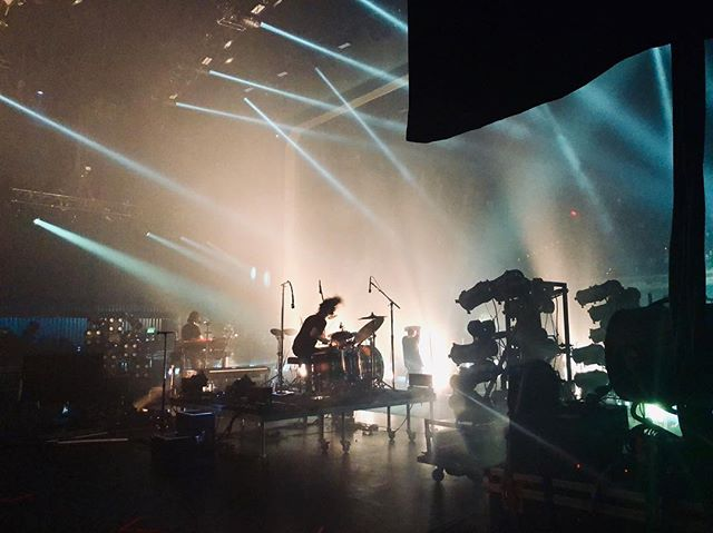 I'm still pinching myself from last nights backstage side view for the NIN show!! And the amazing front side ticket courtesy of @cavumedianola 😳🖤🤘🏻How I'm so blessed I'll never know. . . . #neworleans #saengernola @nineinchnails #backstage #concertphotographer #fanpics #livemusic #lovers #survivalism #havemusicwilltravel  How did none of our pics together come out ugh!!! #myboys #dsquad @itsmicahhaley @the600 @itsmechana