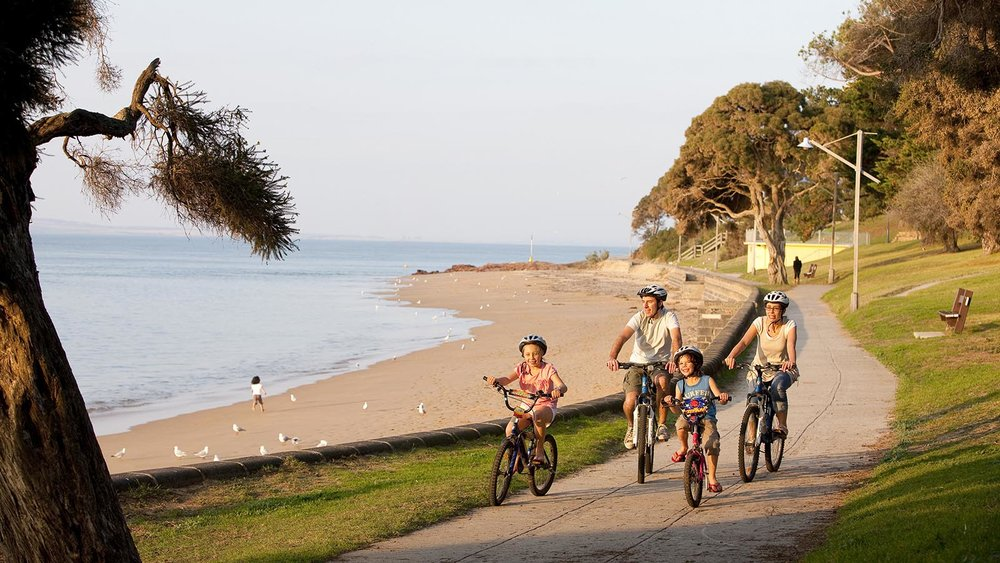 San Remo to Cowes Cycling Track.  Photo credit: Visit Melbourne.