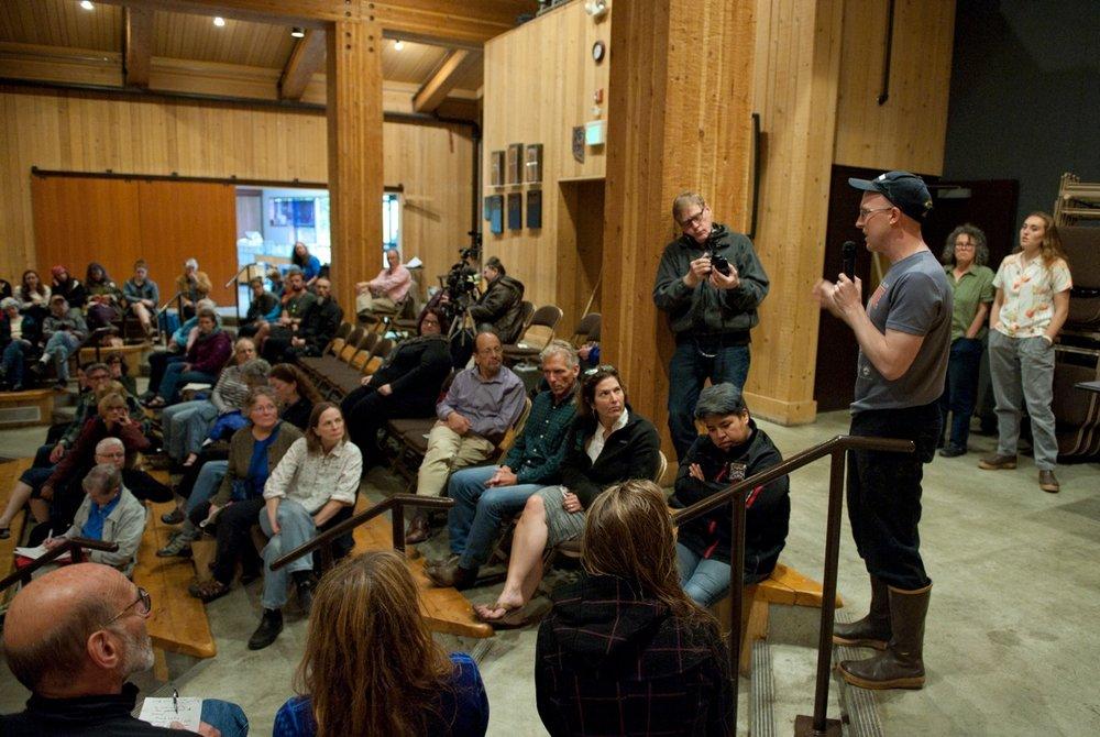 State Representative Jonathan Kreiss-Tomkins Photos:Daily Sitka Sentinel, James Poulson