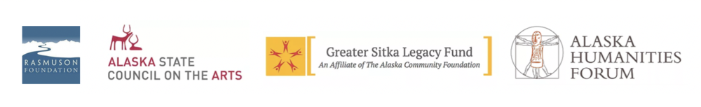 we're supported in part by The Sitka Alaska Permanent Charitable Trust, the Greater Sitka Legacy Fund, the Alaska State Council for the Arts, the Alaska Humanities Forum, the National Endowment for the Humanities, and the rasmuson foundation.