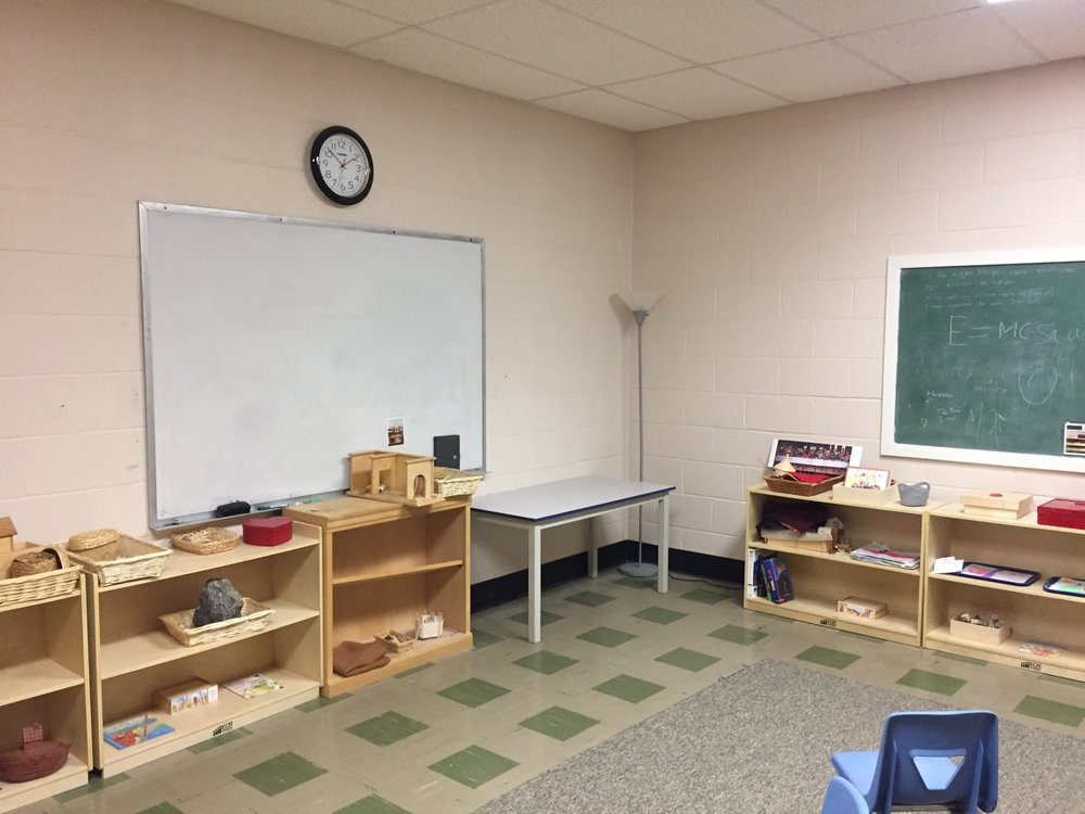 The Old Godly Play room. The new Godly Play room will feature new flooring and fresh paint as well as improved shelving and a cozy rug for conversation and wonder. Outdated supplies will be replaced with modern classroom aids.See below to learn more about the transition!