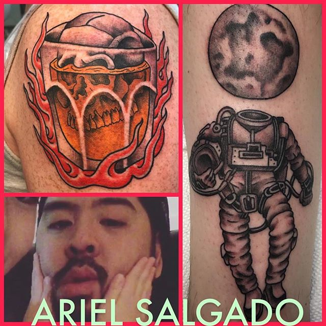 @rel_salgado will be in the shop this Friday and Saturday. @rel_salgado @rel_salgado @rel_salgado #jerseycitytattoo