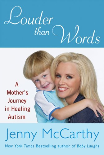 "McCarthy's book chronicling how she ""cured"" her son of autism."