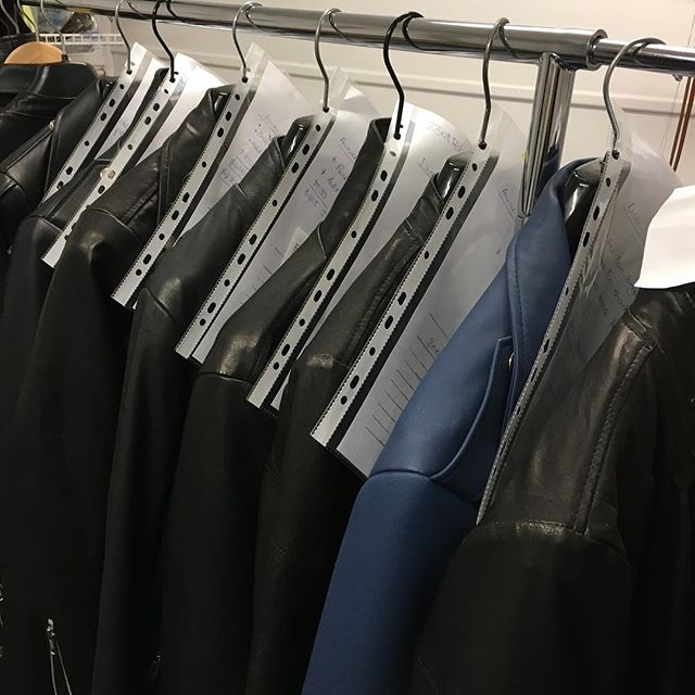 It's starting already!... custom orders ready to collect for autumn !#custom made#madein melbourne #leatherjacket