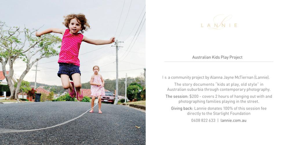 Australian Kids Play Project
