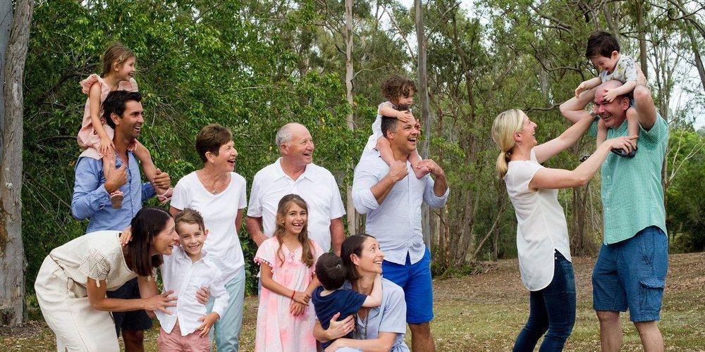 Extended Family Photoshoot Coorparoo