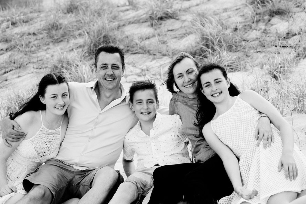 family beach portraits main beach queensland